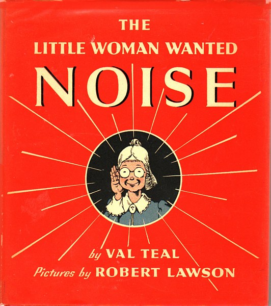 Little woman wanted noise